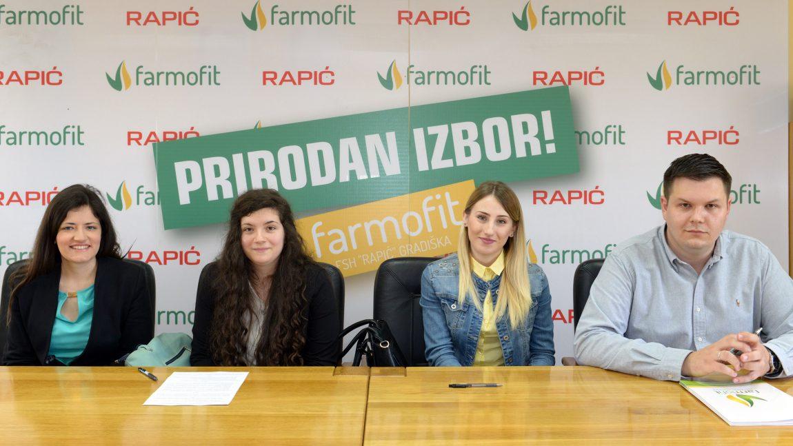 """Kompanija """"Rapić"""" dodijelila stipendije studentima Poljoprivrednog fakulteta u Banjoj Luci"""