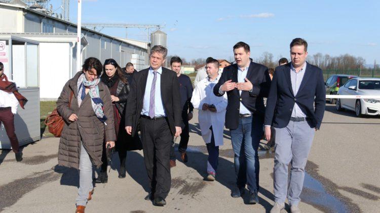Šef Delegacije EU u BiH Lars-Gunnar Wigemark u posjeti Farmofitu