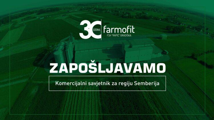 Konkurs za posao – Komercijalni savjetnik za regiju Semberija
