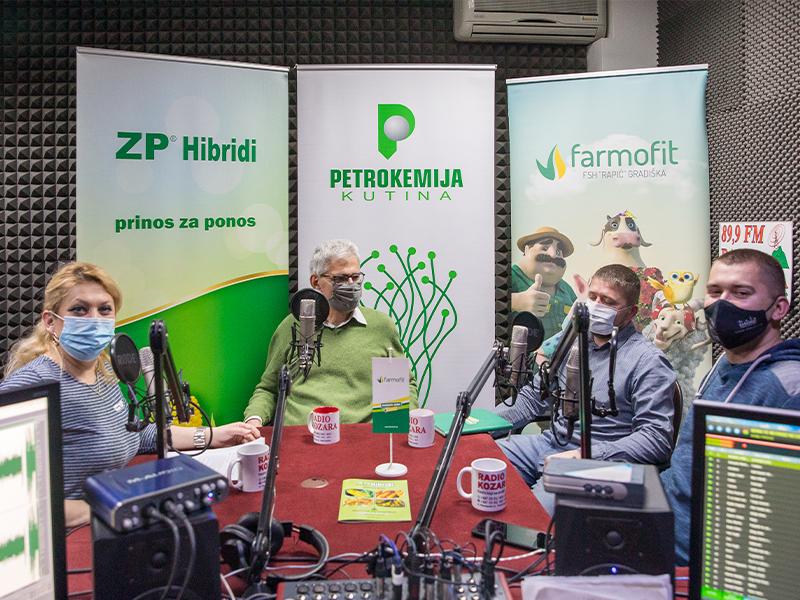 dr Lopandić, dr. Makivić i dipl. ing. poljoprivrede Petar Ninić održali brojna gostovanja na radio stanicama.