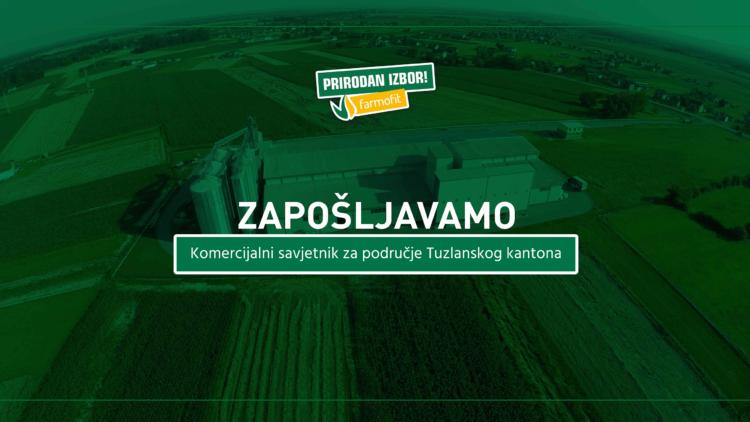 Konkurs za posao – Komercijalni savjetnik za područje Tuzlanskog kantona (M/Ž)